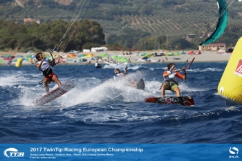 IKA TwinTip:Racing Europeans Marked by Drama and Upsets