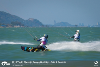 Girls Rush to Seal Youth Olympics Places in Tough Racing in Thailand