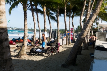"Qualification for ""The Americas"" are underway in Cabarete, Dominican Republic"