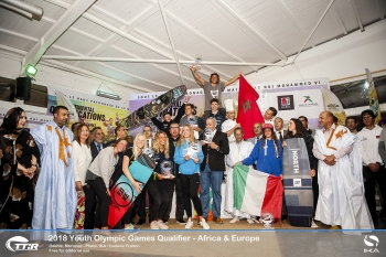Marocco, South Africa, Italy and Slovenia clinch spots for Kiteboarding Youth Olympic Games in thrilling Climax