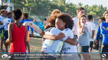 "Argentina continues to dominate Kiteboarding Youth Olympic Games qualifers for ""The Americas"""