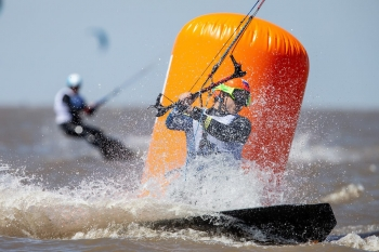 Kiteboarding's Inaugural Olympic Event Kicks Off In Light Breezes In Buenos Aires